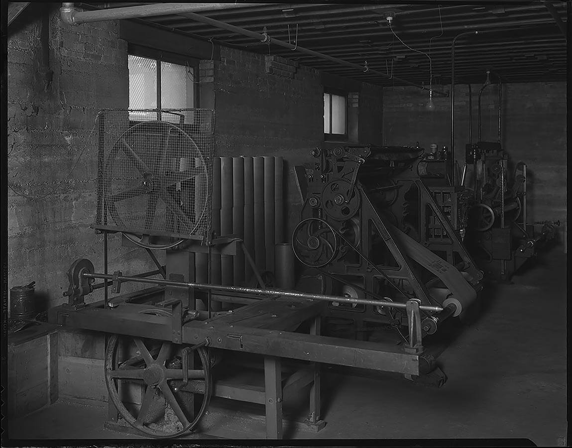 Carpenter Paper Company Machinery 1936