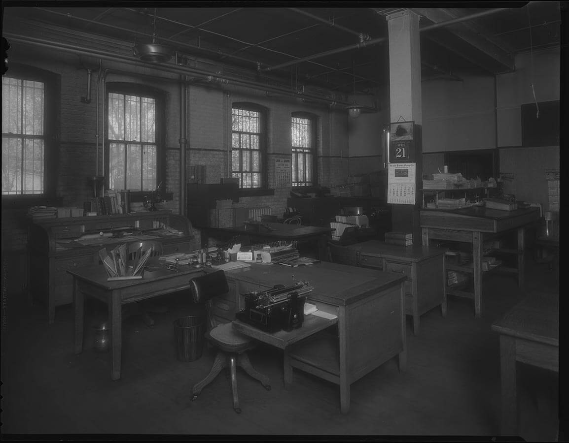 Carpenter Paper Company Interior 1936