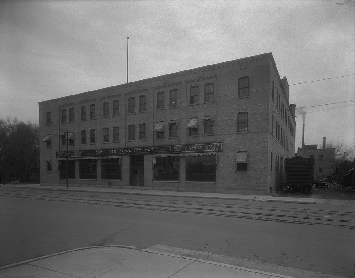 Carpenter Paper Company Building Looking Northeast 1927